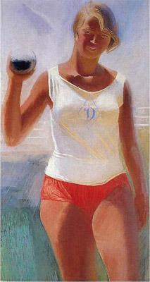 А. Н. Самохвалов. Девушка с ядром. 1933 г.
