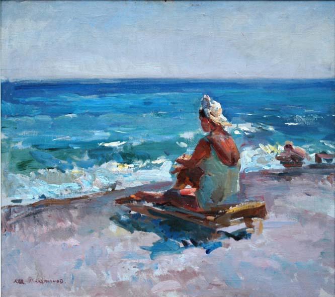 П.Н. Андрианов. У моря