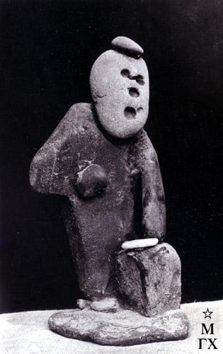 А. А. Арендт. Оратор. 1965. Камень. 25х11х13