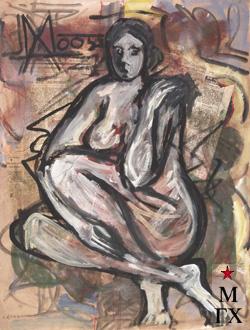 Мария Арендт. Обнаженная. 2005.