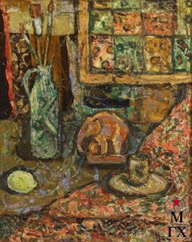 Мария Арендт. Натюрморт со слоном. 2003.