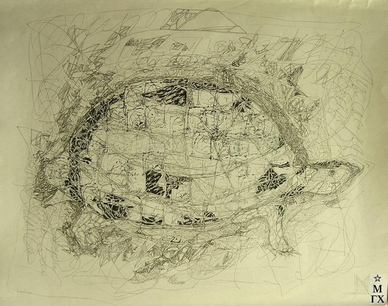 Мария Арендт. Черепаха. 2005.