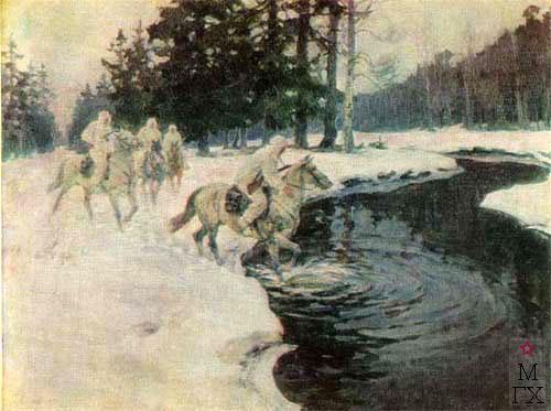 Авилов М. И. Переправа