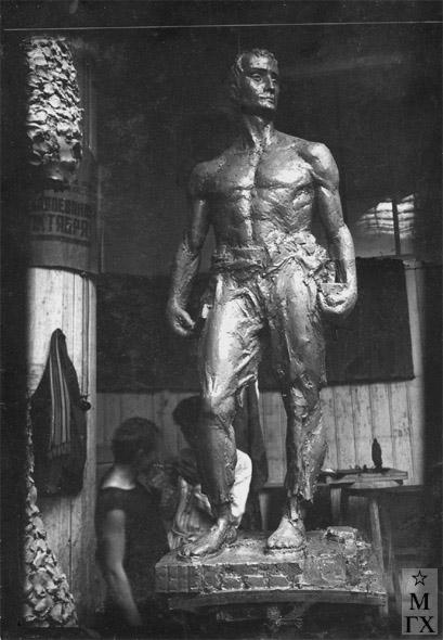 М.Б. Айзенштадт. Фигура спортсмена. ВХУТЕИН. 1929.