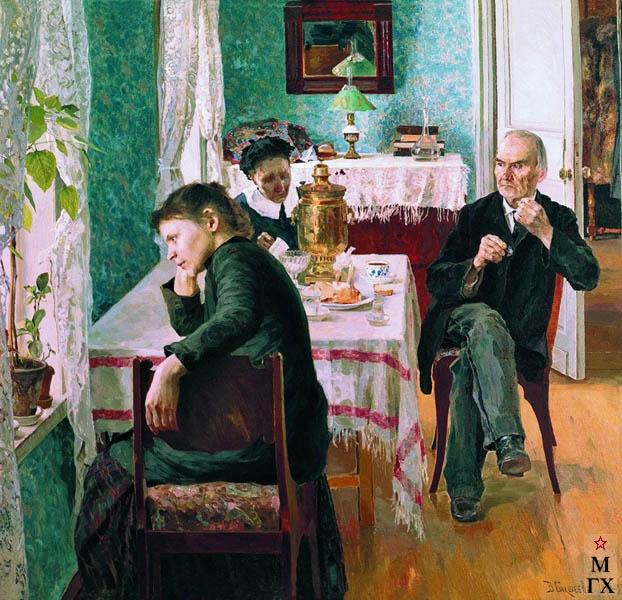 В. Н. Бакшеев. Житейская проза. 1892. Х.М. 68x73 (ГТГ).