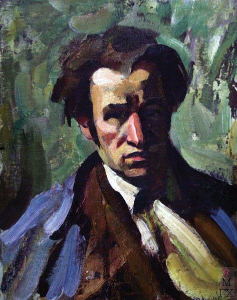 А.И. Базлаков. Автопортрет
