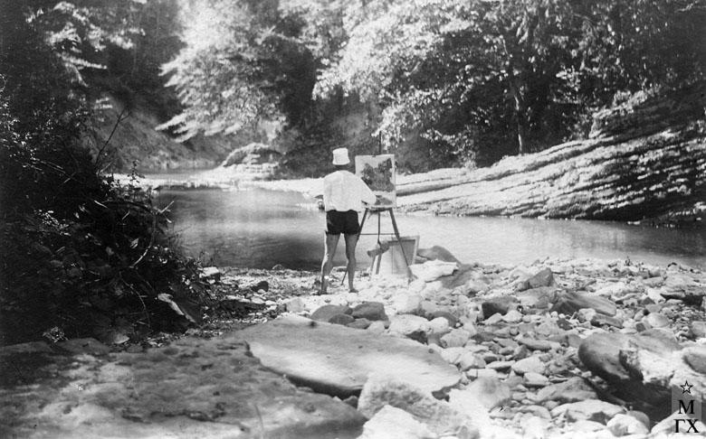 Река Хоста. 1929 г.