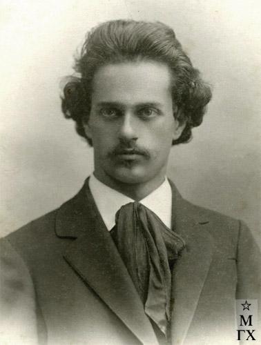 Николай Белянин. Казань, весна 1912 г.