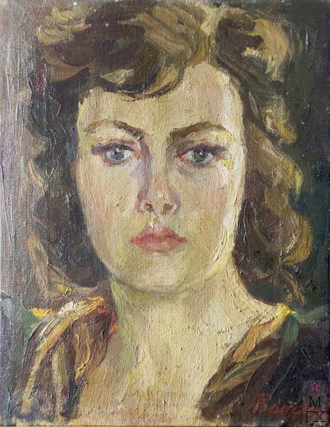 Г.Н. Белоярцева-Вайсберг. Автопортрет