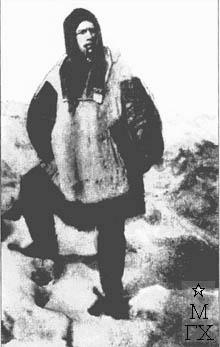 Василий Беляев в экспедиции. 1929.