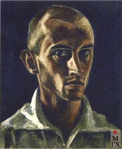 Бушинский С. Н. Автопортрет. 1934. Х.М. 48.5х41.5