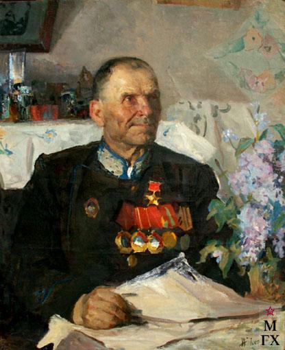 Н.Н. Чебаков. Портрет орденоносца.