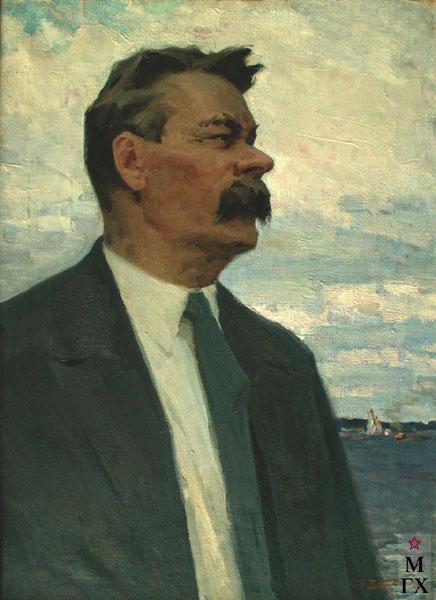 Н.Н. Чебаков. Портрет А.М. Горького
