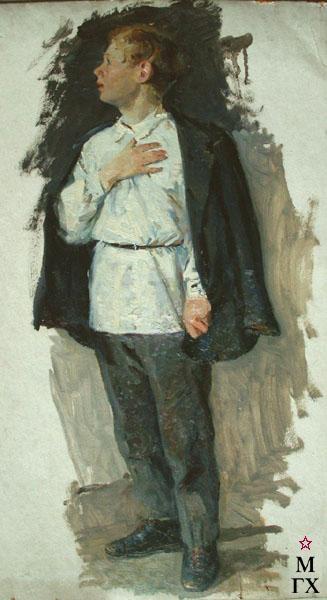 Н.Н. Чебаков. Эскиз.