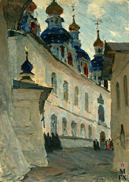 Н.Н. Чебаков. Киево-Печерская лавра.