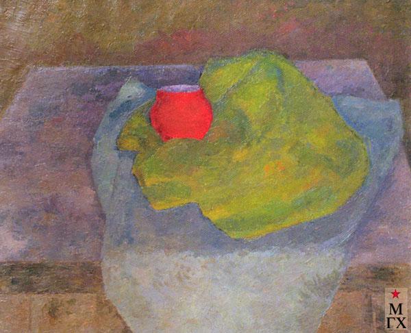 Фальк Р. Р. Натюрморт с красным горшочком. 1955-1956.
