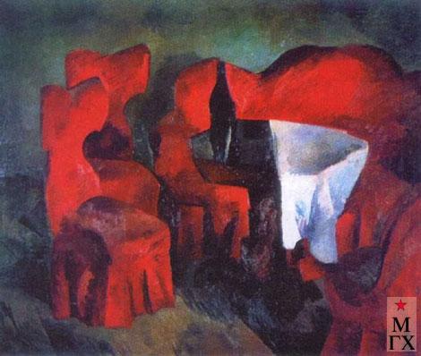 Фальк Р. Р. Красная мебель. 1920