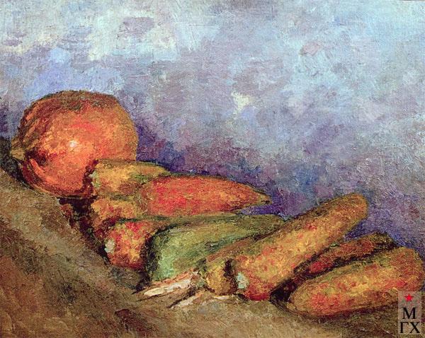 Фальк Р. Р. Тыква и кукуруза (молдавский натюрморт