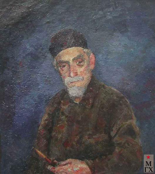 Фальк Р. Р. Портрет А. В. Куприна. 1945-46. Х.М. 71,5х80,5.