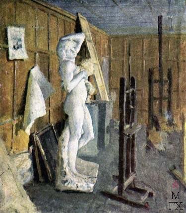 Н.Н. Горлов. В студии