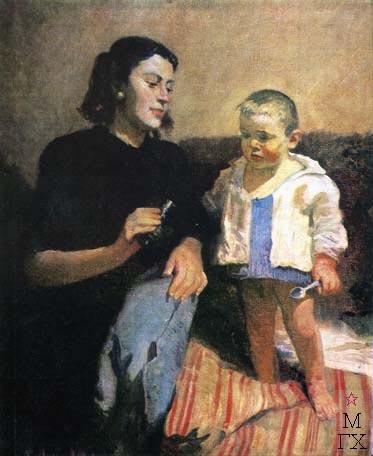 Н.Н. Горлов. Семья