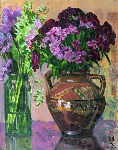 Н.Н. Горлов. Натюрморт с цветами
