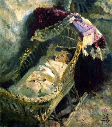 Н.Н. Горлов. Спящий мальчик