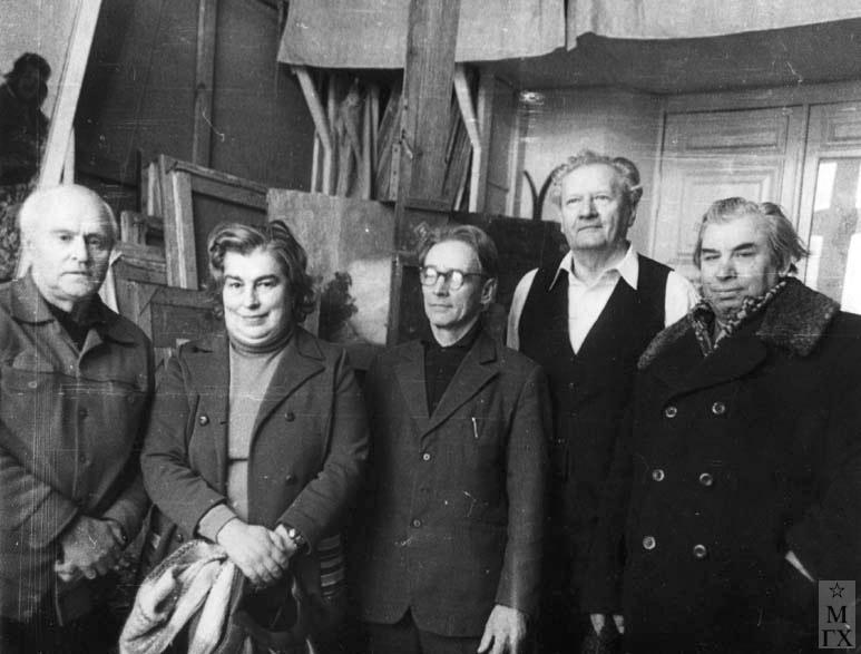 В.Г.Гремитских, ?, К.М.Максимов, М.Ф.Володин, Н.Н.Горлов.  Мос. 1979