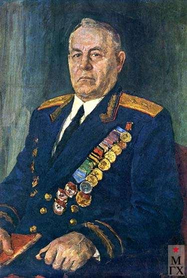 В.Г.Гремитских. Портрет генерала А.Н. Мальчевского