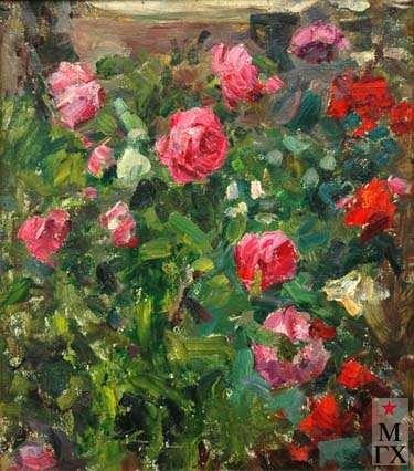 В.Г.Гремитских. Красные розы