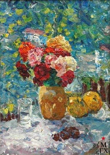В.Г.Гремитских. Розы