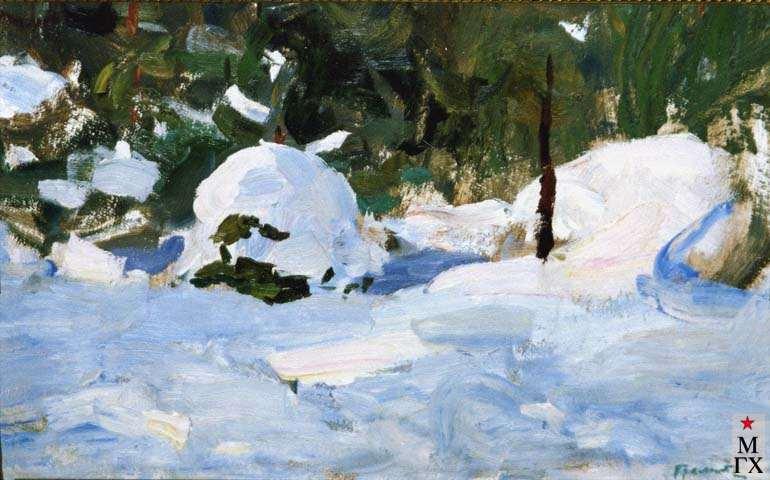В.Г.Гремитских. Зимний лес