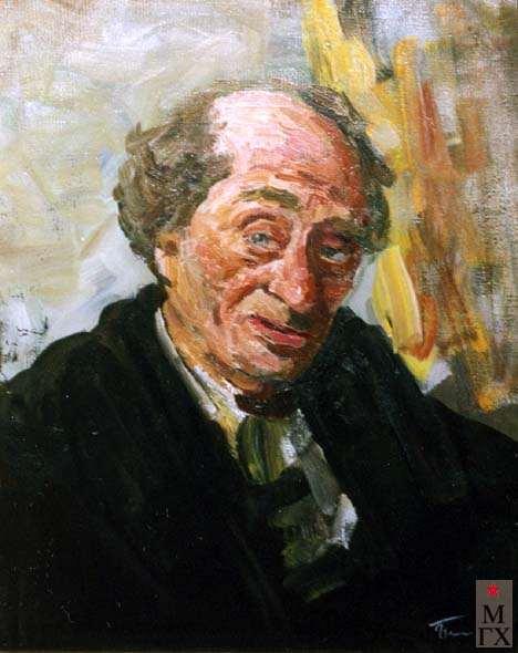 В.Г.Гремитских. Портрет старого еврея