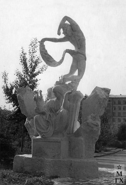 А. И. Григорьев. Вариант памятника