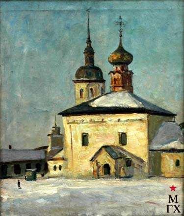 Э.Д.Ишмаметов. Собор в Суздале