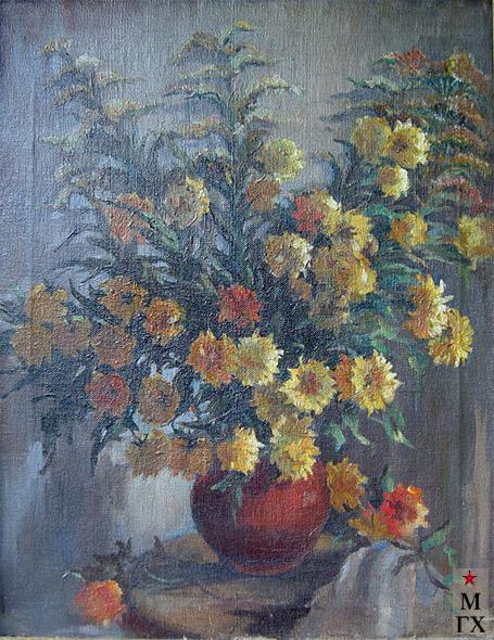 Вера Кизевальтер. Цветы, хм, 1940.