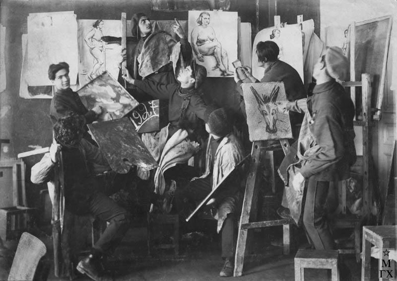 В Ереванском худ. училище. 1927 г.