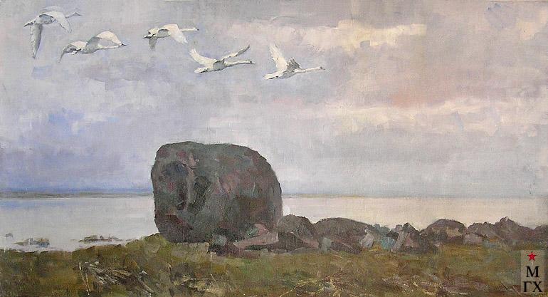 Коробов А. А. Легенда. 1971. Х.М. 88х127 (частное собрание).
