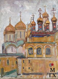Коробов А. А. Москва, Кремль. 1963. 54х43.