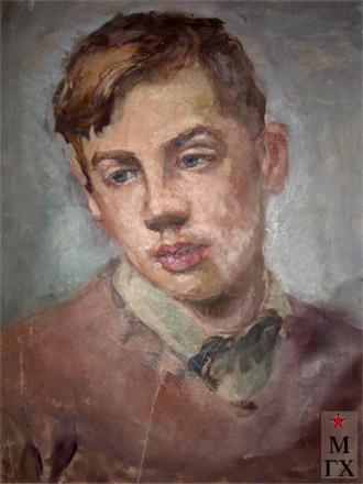 Александр Коробов. Портрет сына Вадима.