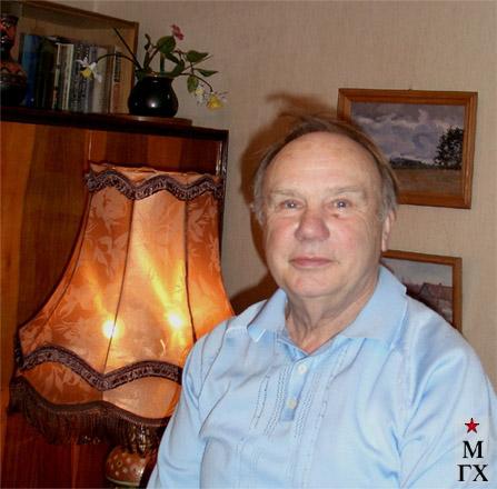 В.А. Коробов, сын художника. Март 2008.