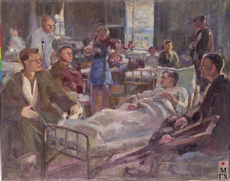 З.А. Кожевникова. Концерт для раненых.