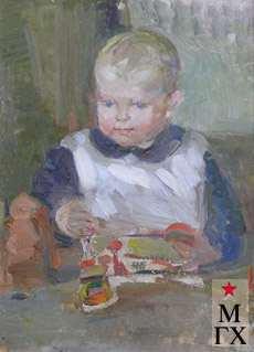З.А. Кожевникова. Ира. 1929. Х.М.