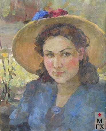 З.А. Кожевникова. Портрет Лианы. 1947. Х.М.