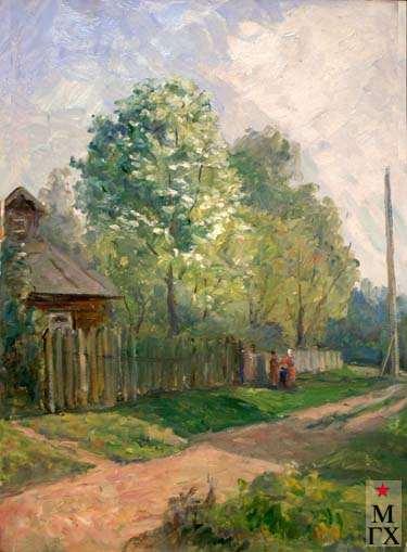 А.А.Кулагин. Деревня Свистуха