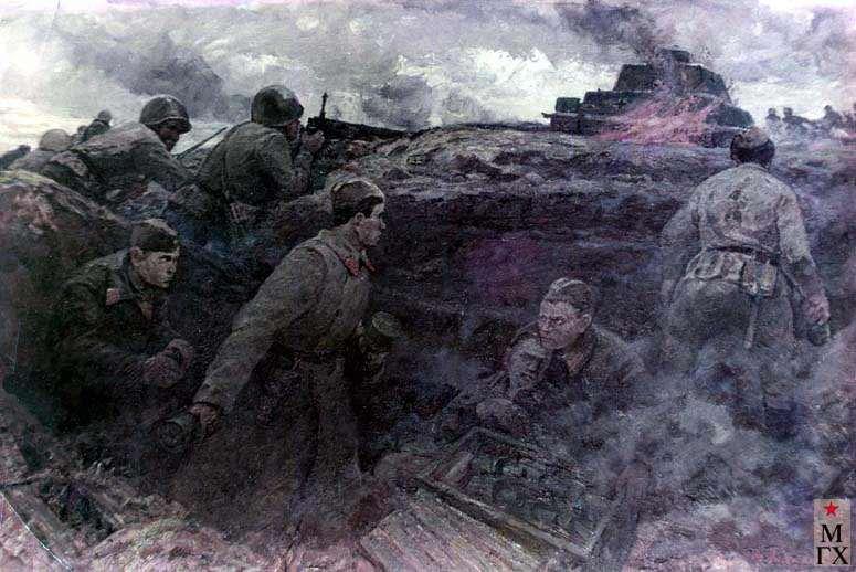 А.А.Кулагин. Оборона Москвы