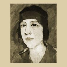 Купервассер (Русакова) Татьяна Исидоровна (портрет А. И. Русакова)