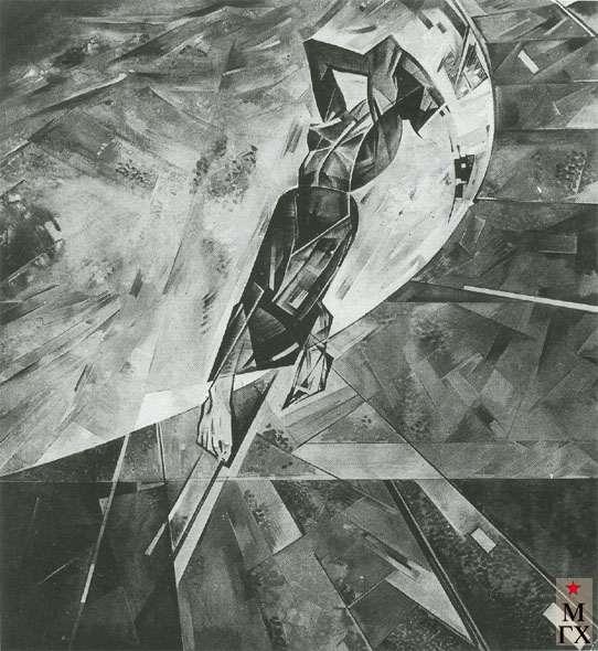 Лизак И. Л. Экспериментальная композиция. 1929-30. Х.М. 151х138. ГРМ