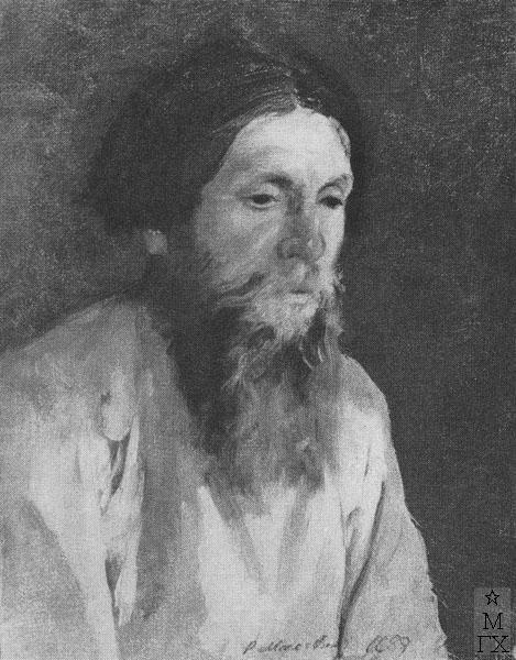 Ф.А. Малявин. Крестьянин. 1888.