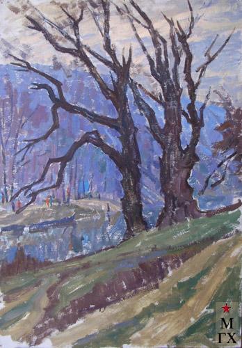 Т.М. Марченко. Старые деревья.